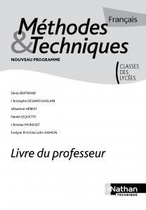 Pages de Français - Méthodes et Techniques